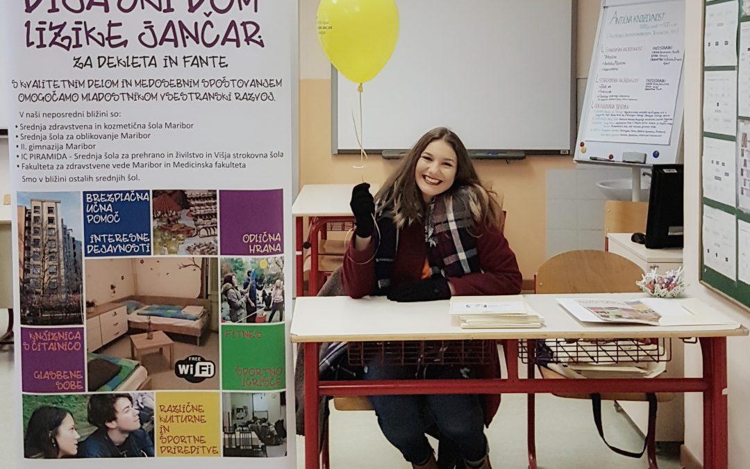 Zahvala dijakom DD Lizike Jančar