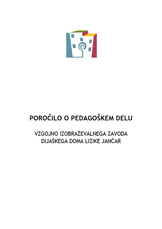 Poročilo o pedagoškem delu