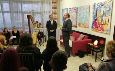 Razstava likovnih del v Kotičku za sprostitev