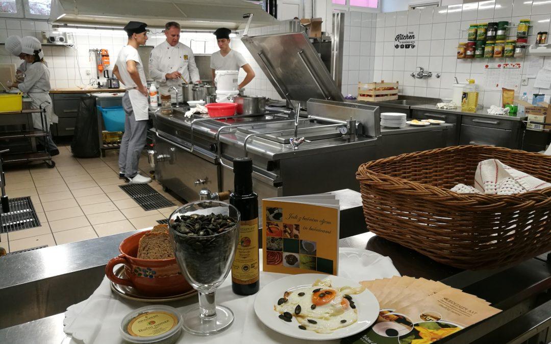 Slovenski tradicionalni zajtrk v dijaškem domu