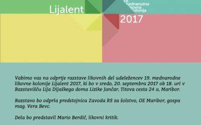 Razstavišče LIJA 20. 9. 2017 ob 18. uri