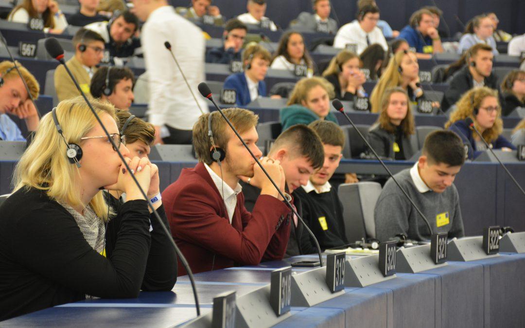 Obisk Evropskega parlamenta in alzaške prestolnice
