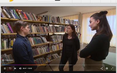Članek na RTV SLO ob otvoritvi obnovljenega dijaškega doma Lizike Jančar