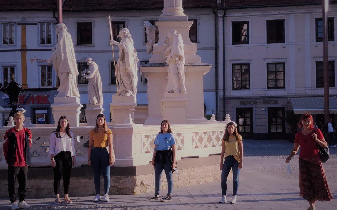 Ogled mesta Maribor z novinci